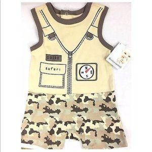 Buster Brown Safari Guide Outfit Baby Camouflage